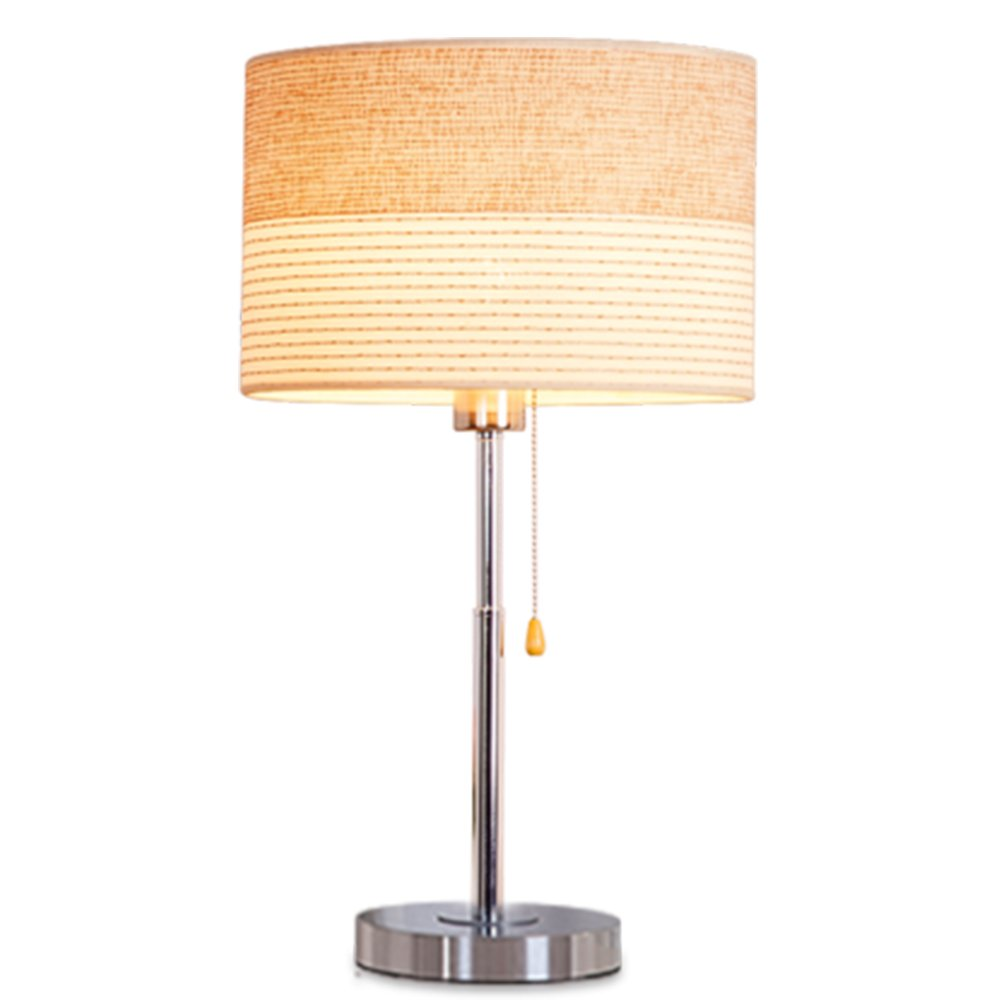 sophilab ese metal table stand lights modern cloth accent lamp shade edison desk lamps contemporary iron led desktop night bedside bedroom antique round coffee mission style