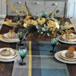 southern belle budget acs target waldo accent table tablescape came from items already had borrowed the thrift not too shabby inspiration piece was runner that hafley ikea closet 150x150
