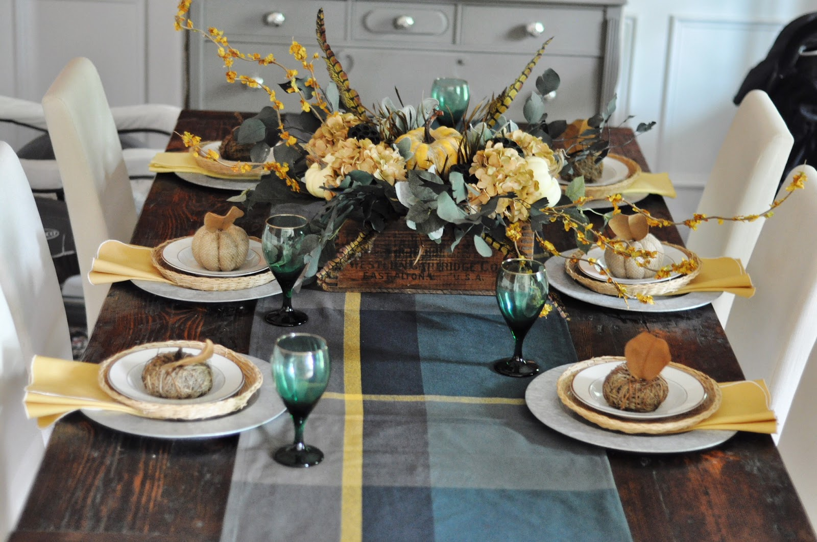southern belle budget acs target waldo accent table tablescape came from items already had borrowed the thrift not too shabby inspiration piece was runner that hafley ikea closet