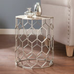 southern enterprises clarissa metal accent table bellacor hover zoom wood floor trim plastic garden and chairs plans rugs wisteria lamp wooden sawhorse legs target leather chair 150x150
