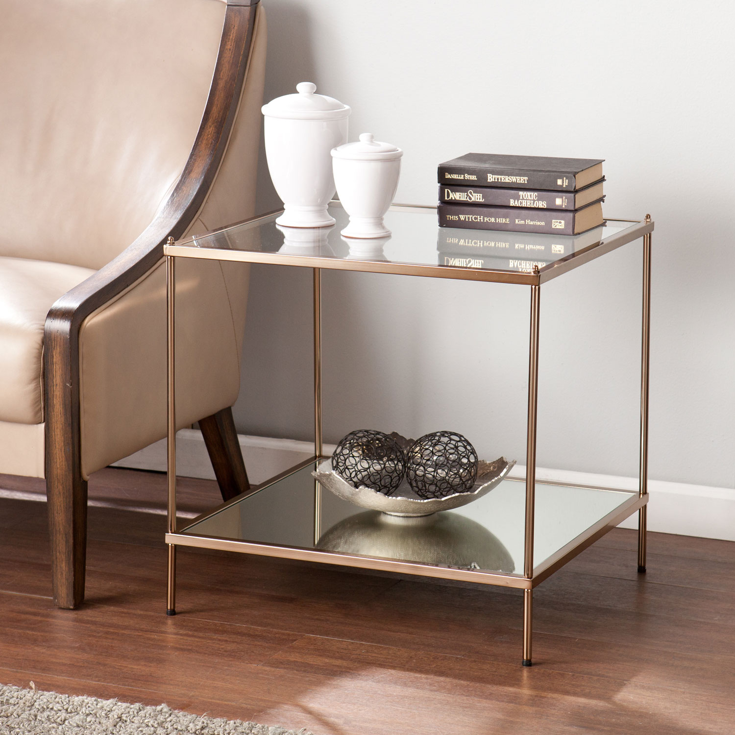 southern enterprises knox end table bellacor accent hover zoom round coffee and tables kmart inch console black pedestal chinese style lamp shades living room ornaments uttermost