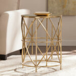 southern enterprises starina gold mirror accent table reviews mirrored pedestal lamp long skinny coffee round kitchen sets for french beds verizon tablet end tables cushions 150x150