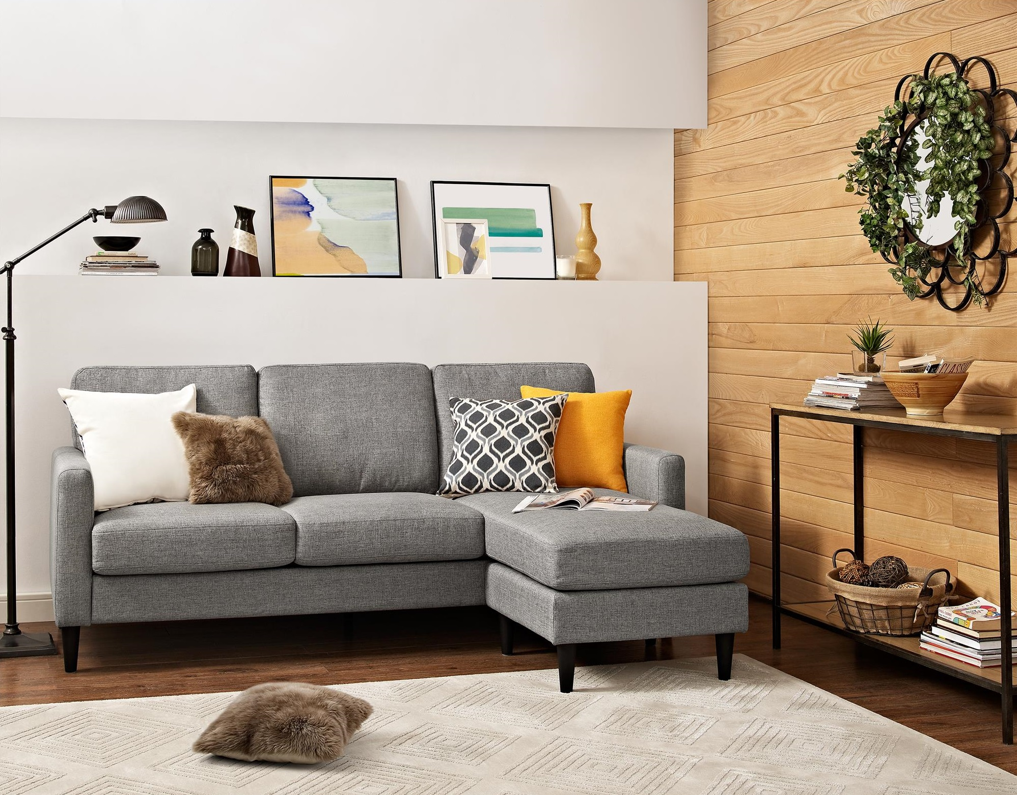 spectacular briggs geometric end table cazenovia reversible sectional parquet accent target here everything ing from massive memorial day round patio chair nook plus small outdoor