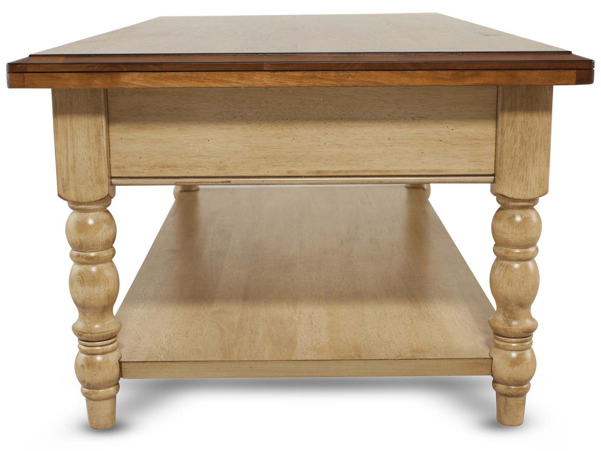 spindle leg solid wood coffee table brown mathis brothers furniture win accent tablenbsp round mats antiques roadshow dale tiffany lamp patio set with fire pit pier imports