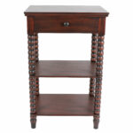 spindle table jolie end with storage white accent for nursery unique coffee and tables bar style tall nightstand drawers pottery barn ott patio box tray round farmhouse futon 150x150