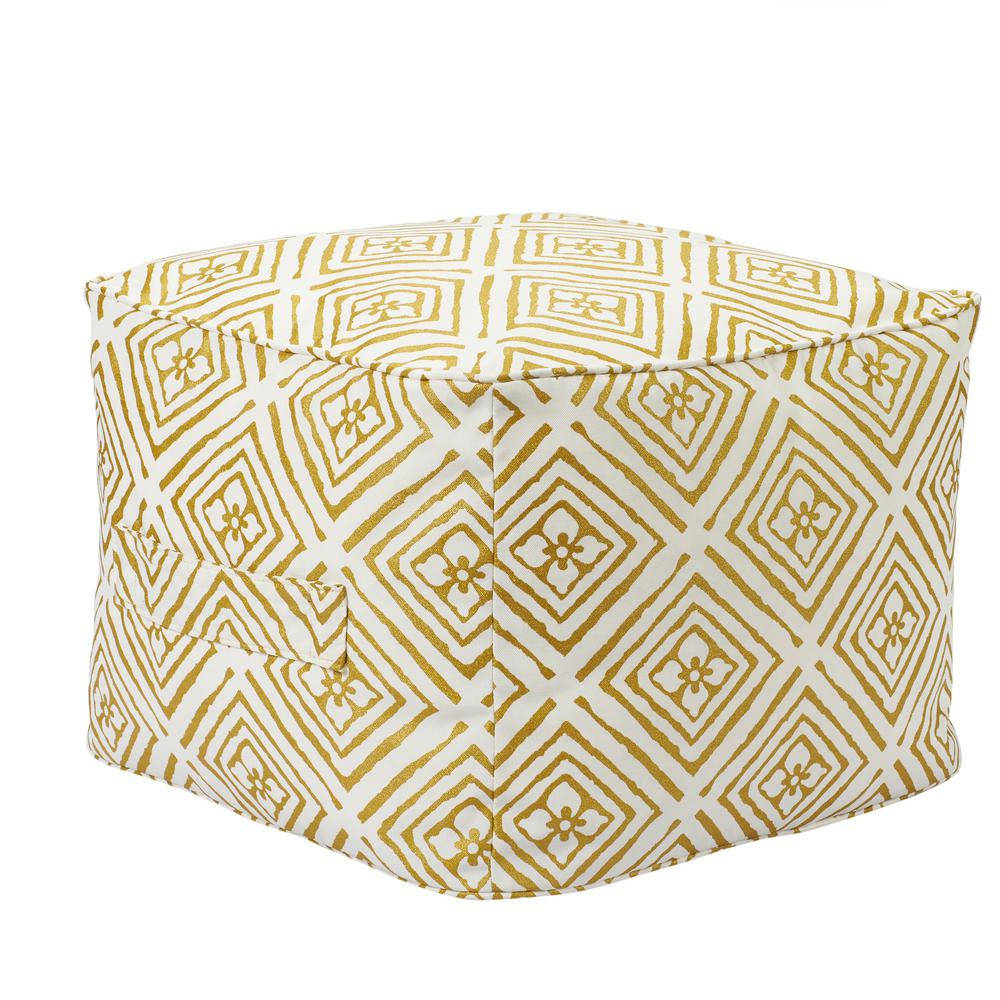 spring haven brown collection outdoors the hampton bay outdoor poufs umbrella accent table metallic diamond square pouf with handle metal nesting tables set target and chairs