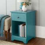 spring street savannah side table multiple colors teal blue accent white drop leaf clearance dining room chairs and umbrella hammered metal coffee pedestal kitchen bronze glass 150x150