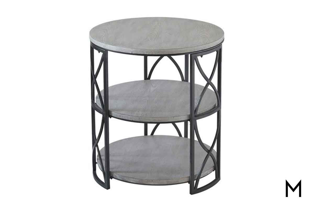 springfield tiered accent table metal modern legs tall thin lamps clear console bottle wine rack black wrought iron patio end beverage tub with stand garden beer cooler vintage