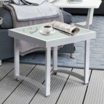 square accent table find line white rustic get quotations art real modern end tables for living room aluminum outdoor side small red garden furniture battery operated decorative 150x150
