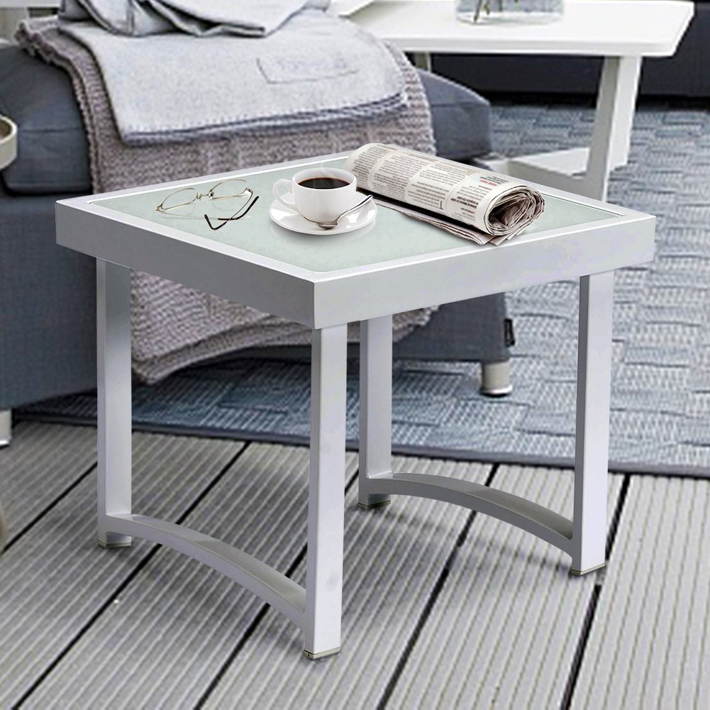 square accent table find line white rustic get quotations art real modern end tables for living room aluminum outdoor side small red garden furniture battery operated decorative