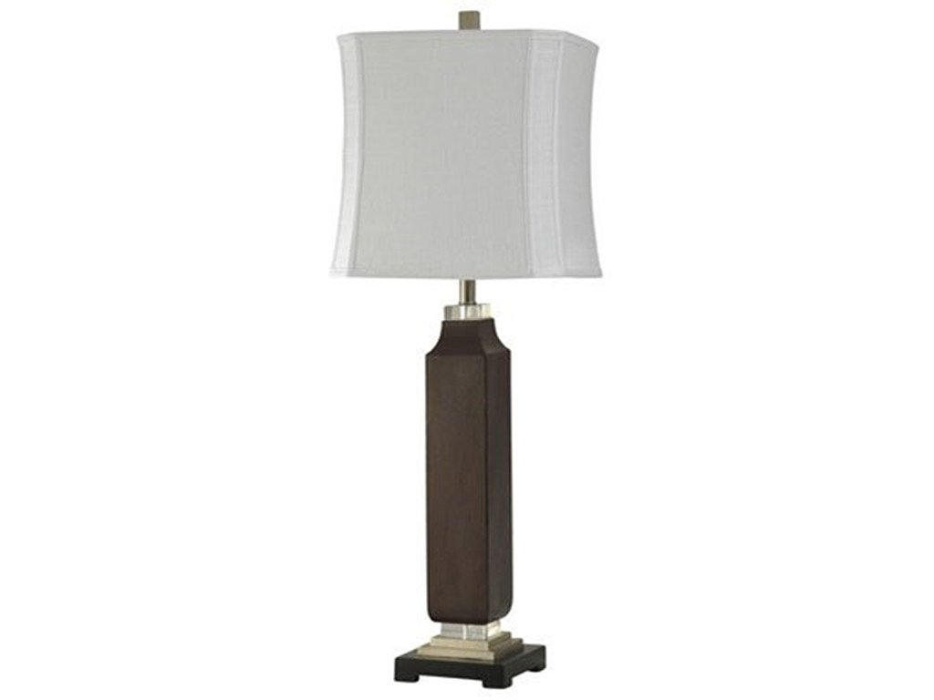 square ebony column accent table lamp lamps stylecraft wilcox products color style craft lampsaccent dining centerpiece ideas west elm settee pottery barn side inch asian inspired