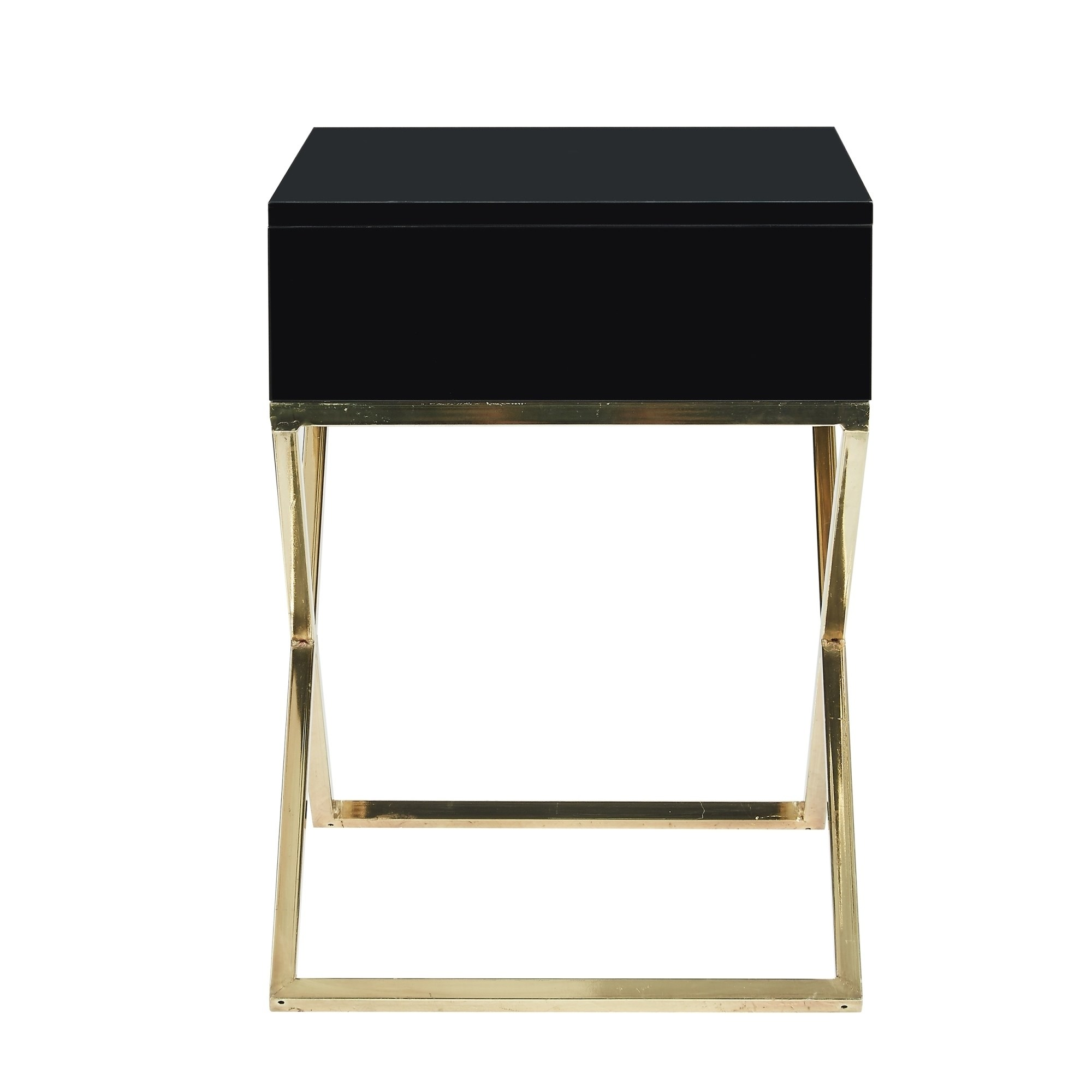 square lacquer legs end table accent nightstand with drawer tables free shipping today rustic industrial coffee mirrored bedside units decorative clear lucite black cabinet dining