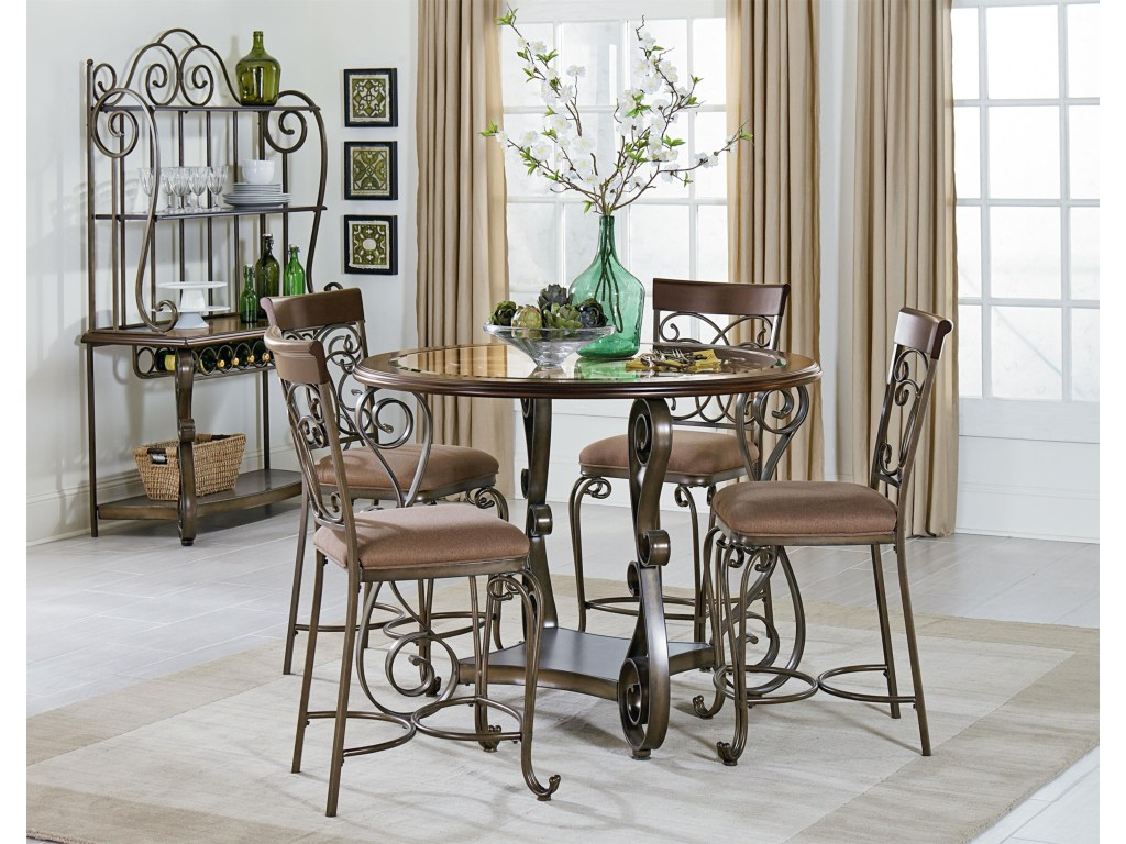 standard furniture bombay casual dining room group dunk bright products color company marble top accent table long skinny console cloth runners black and white outdoor umbrella