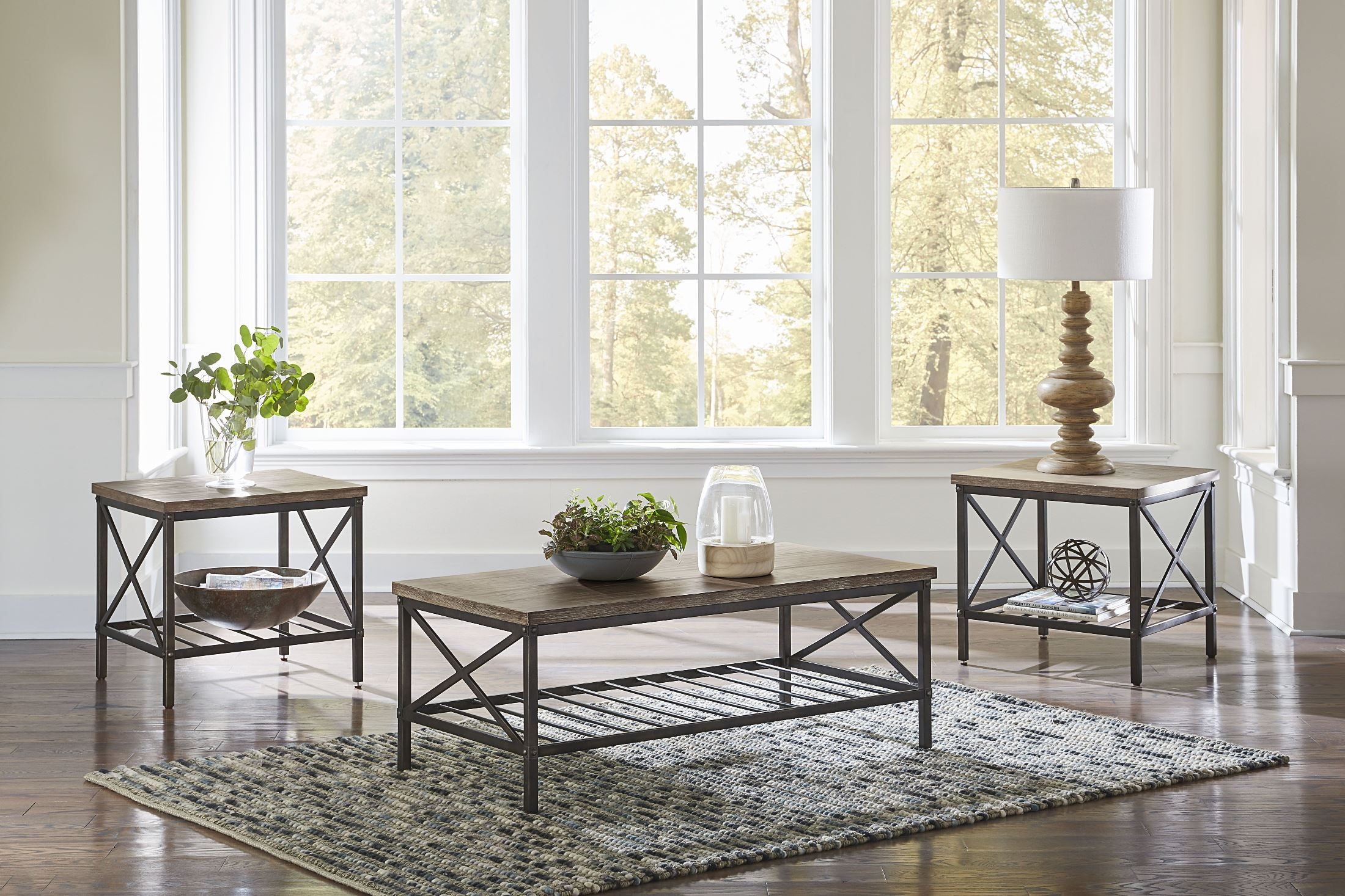standard furniture brendon brown accent tables set roomscene living room table sets wooden coffee plans lamp shades plus green piece patio dining clearance white round linens