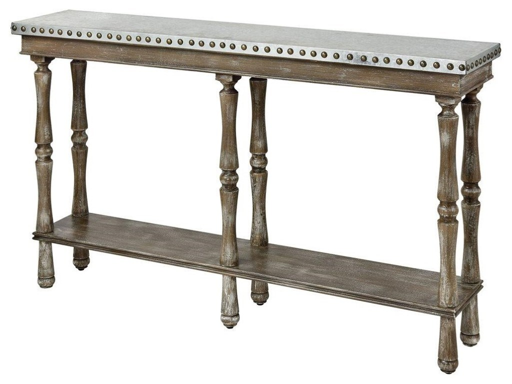stein world accent tables rhodes console table with galvanized metal products color furniture tablesrhodes patio occasional live edge walnut verizon android tablet solid wood end