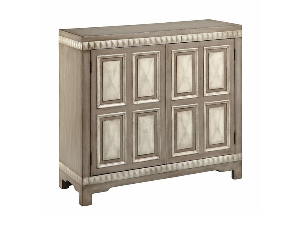 stein world cabinets door cabinet with raised pyramid detail products color mirrored accent table ethan allen iron hairpin legs home lamps decorative gold and silver coffee