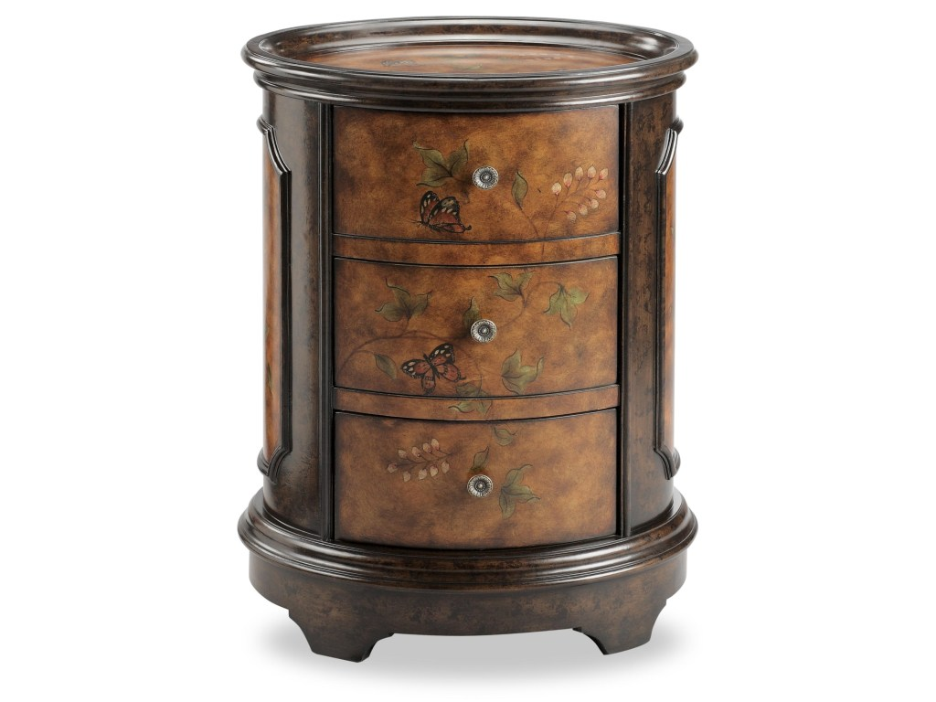 stein world chests oval accent table with butterfly motif products color tables and drum throne wheels modern classic furniture reproductions living room end decor small side