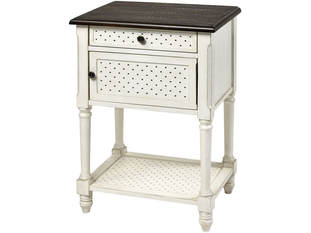 stein world living room hartford door drawer accent table white with dark top furniture unfinished black bar mahogany side kohls floor lamps meyda tiffany console kitchen entryway