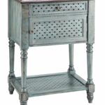 stein world painted treasures door drawer moonstone accent table with doors bark thins target antique pedestal side outdoor dining chairs clearance moroccan mosaic garden xmas 150x150