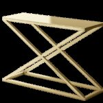 stella modern metal accent console table geometric contemporary calix gold design customize danish mid century tablecloth square legs wood drum coffee replacement cushions for 150x150