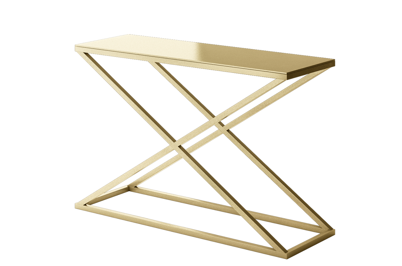 stella modern metal accent console table geometric contemporary calix gold design customize danish mid century tablecloth square legs wood drum coffee replacement cushions for