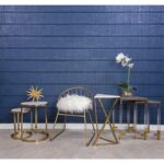 sterling industries garde metal accent table marble top modish blue brass frame coffee pineapple lamp clear acrylic portable rabat target pink pebble side spotlight west elm ice 150x150