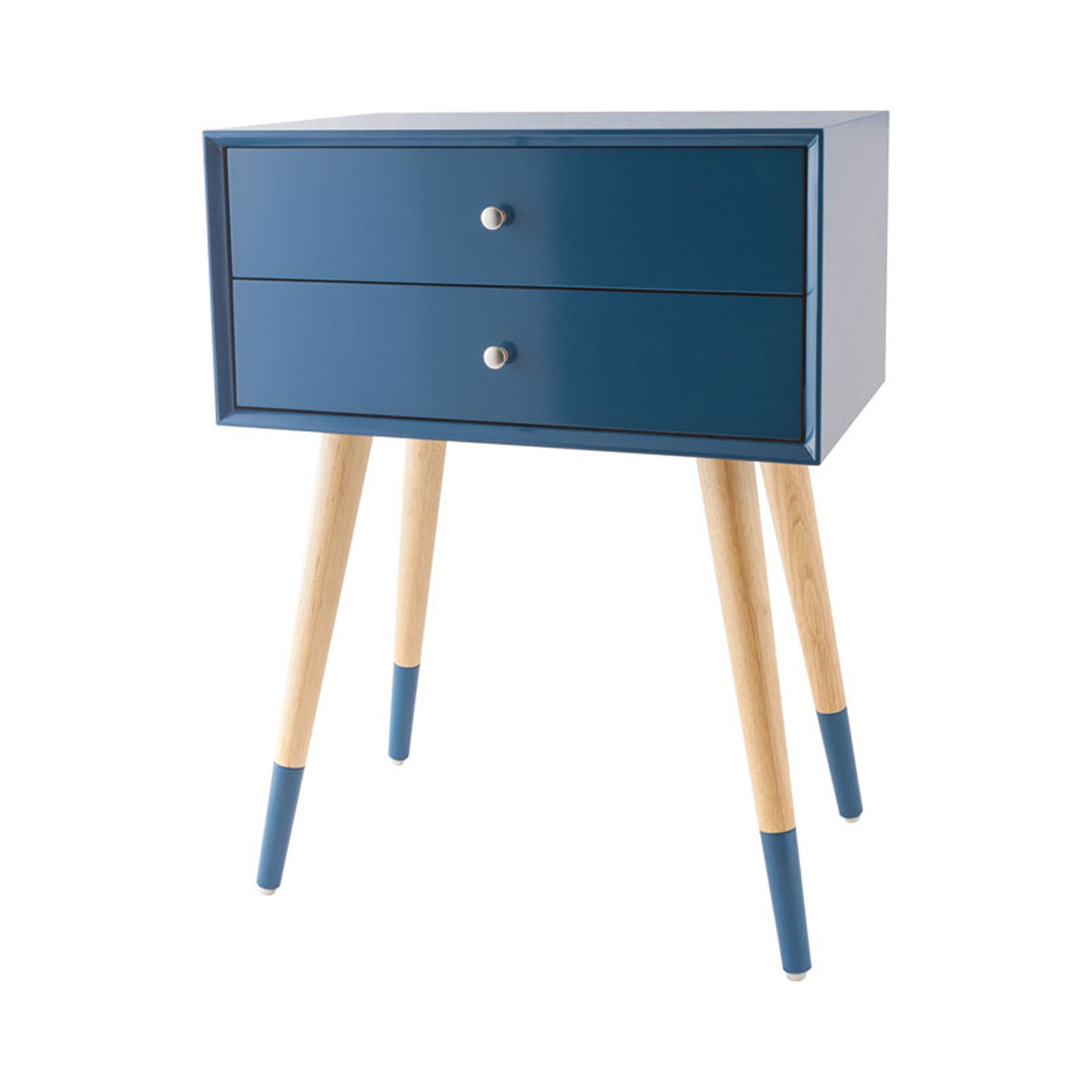 sterling industries googie navy accent table bellacor blue hover zoom cool coffee ideas inexpensive kitchen tables ashley furniture ott opentable round black wood modern baroque