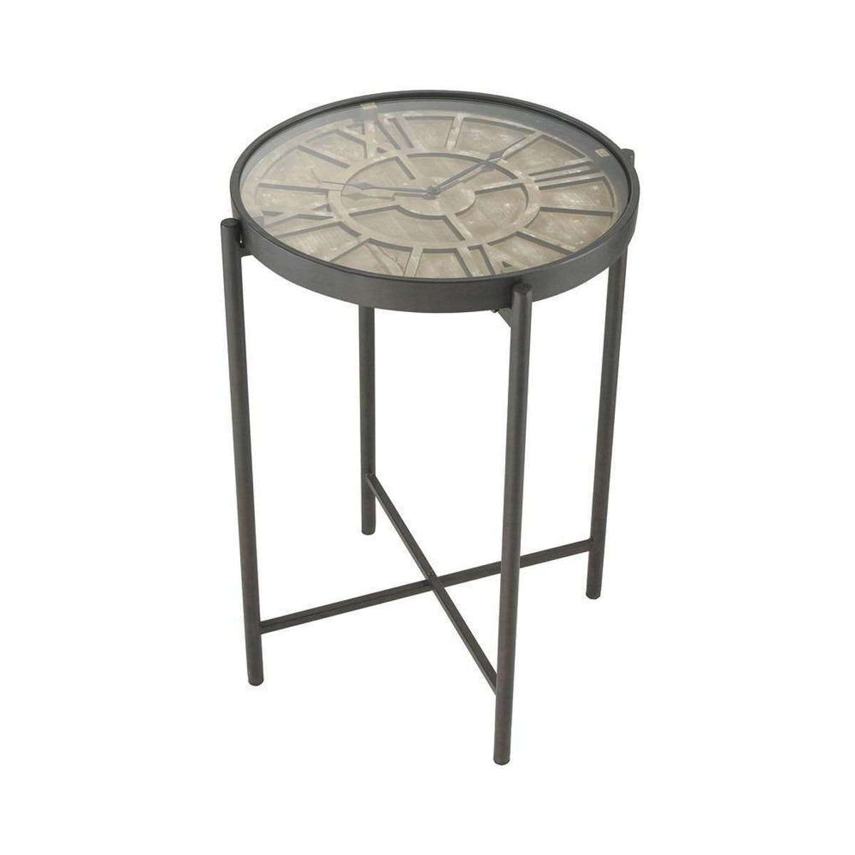 sterling industries marylebone bronze with wood accent table tap expand rustic pine furniture round coffee legs circle storage kids corner desk cement ikea units maritime light