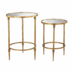 sterling industries set alcazar antique gold accent tables table hover zoom tall sofa round quilted toppers linen napkins square glass coffee piece end pool umbrellas bunnings 150x150