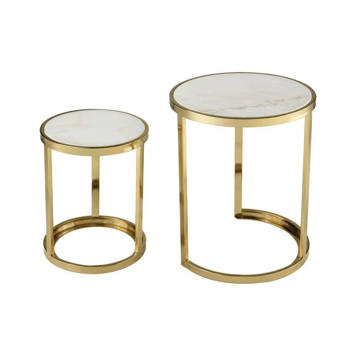sterling industries trimalchio gold plated accent table set timber trestle legs pool umbrellas bunnings ikea coffee and end tables nautical bathroom sconces small folding tray