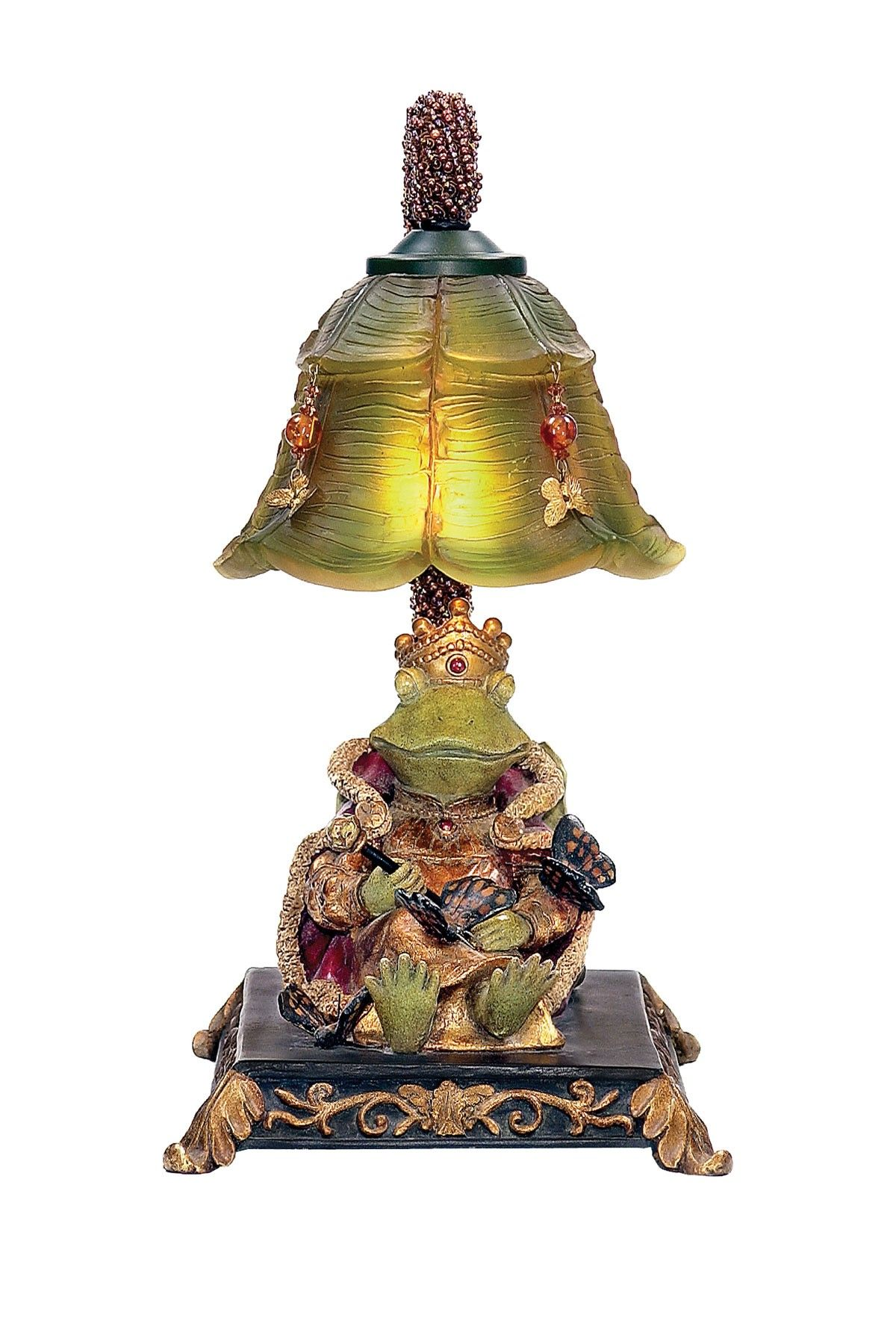 sterling resting queen frog mini accent table lamp hautelook lamps still heart love pottery barn wood desk leick mission furniture gold glass side wine cupboard foyer cabinet