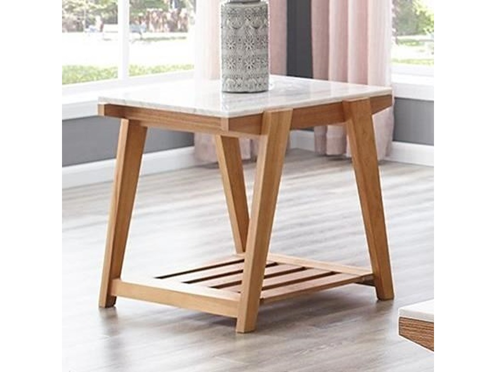 steve silver celeste white marble top end table with lower shelf products color threshold accent celestewhite glass patio tables narrow antique console outdoor wood dining battery