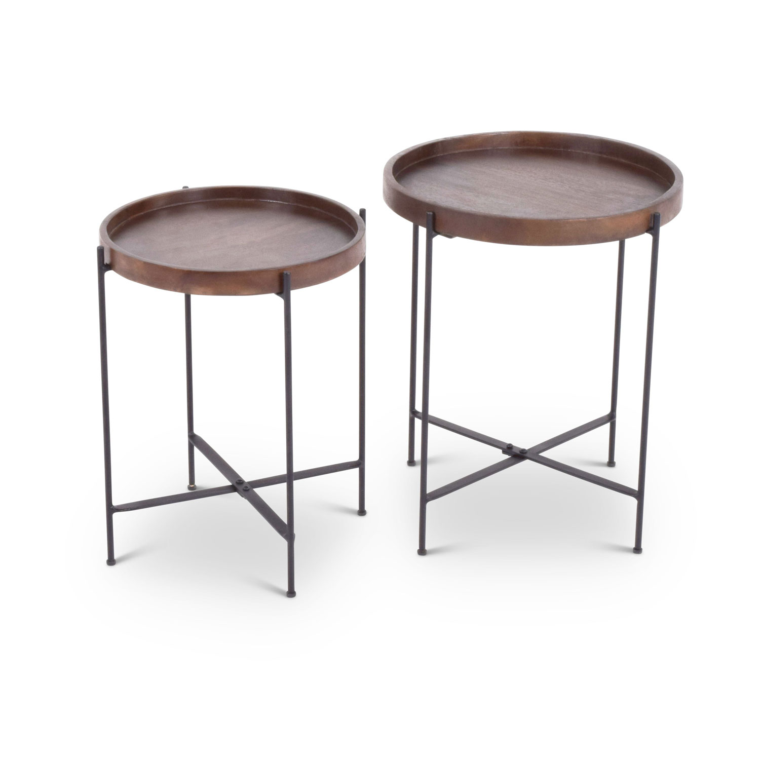 steve silver company capri round accent tables set table hover zoom bronze side small square white coffee outdoor dining black patio ships lantern lamp pier one kitchen sets for