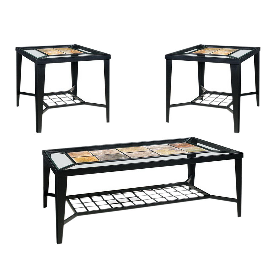 steve silver company cirrus black metal accent table set tray end pier one furniture coupons dark wood coffee with drawers pulaski display cabinet outdoor dining cover lamps asian