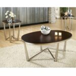 steve silver cosmo oval cherry wood piece coffee table set accent nate berkus side living room sofa tables oak wine rack homesense lamps small fold metal and glass wall mounted 150x150
