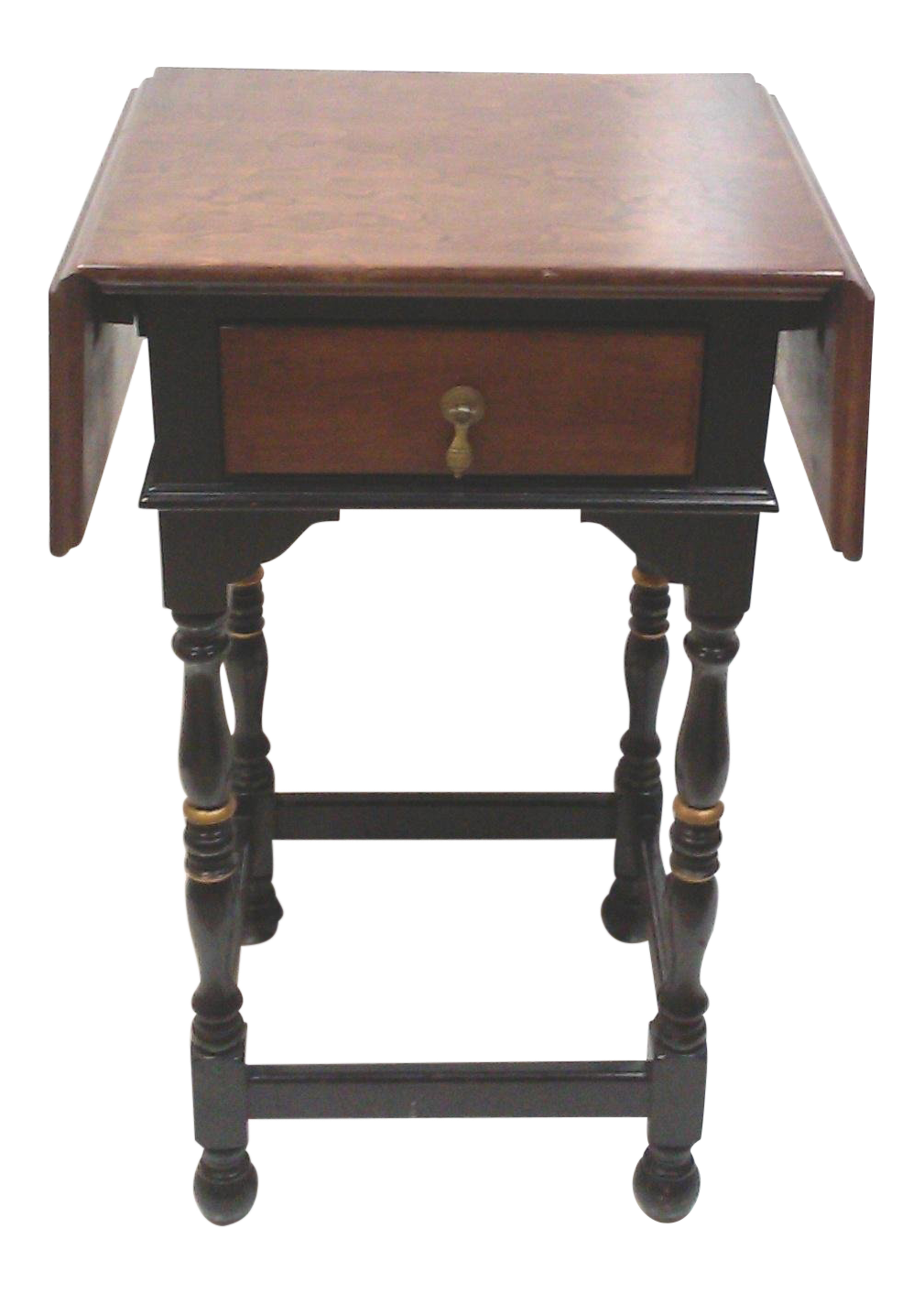 stickley drop leaf accent table chairish piece coffee set pier one bedding reclaimed barn door art deco furniture metal side teal end modern clock cool bar twisted wood rustic