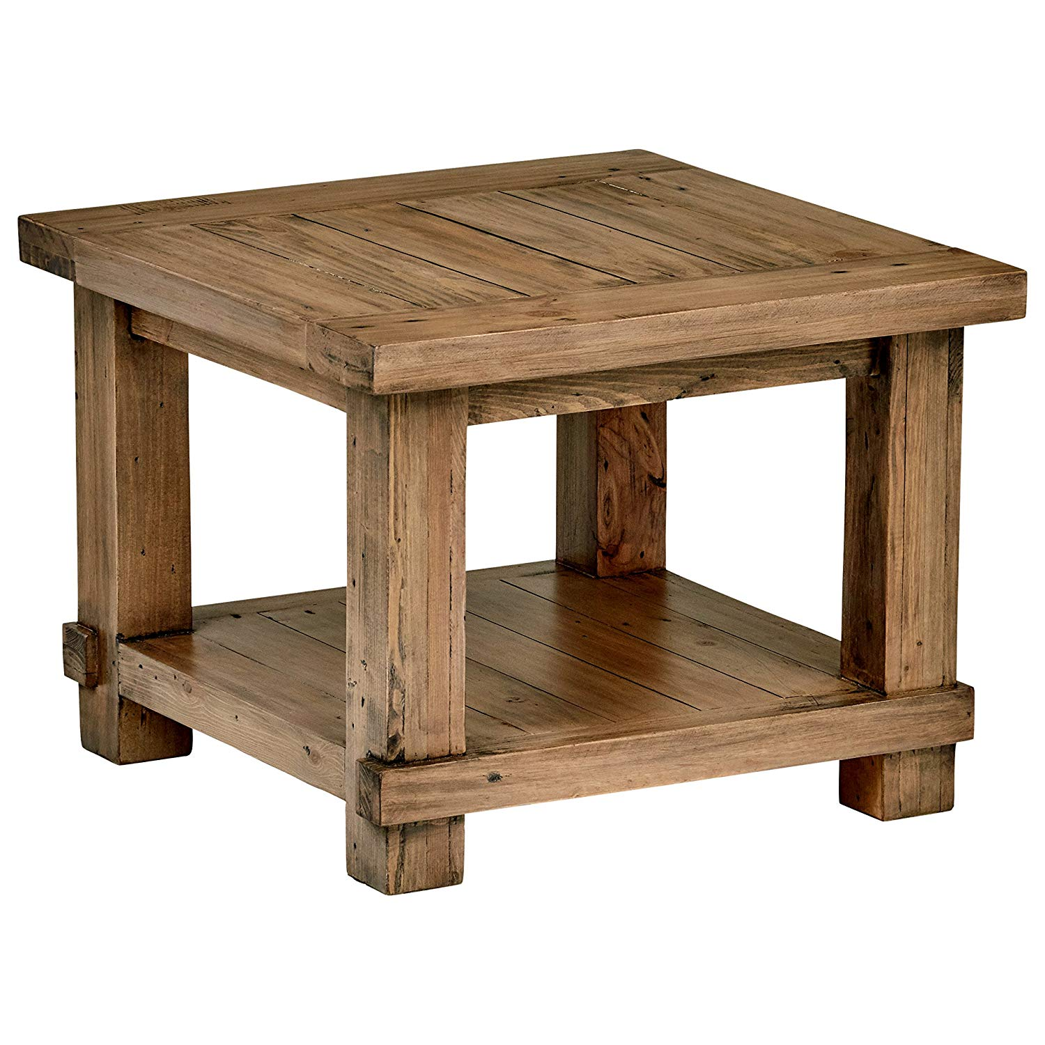 stone beam ferndale rustic side table pine white accent kitchen dining garden furniture rubber carpet edging trim black lamp tables for living room demilune farmhouse breakfast