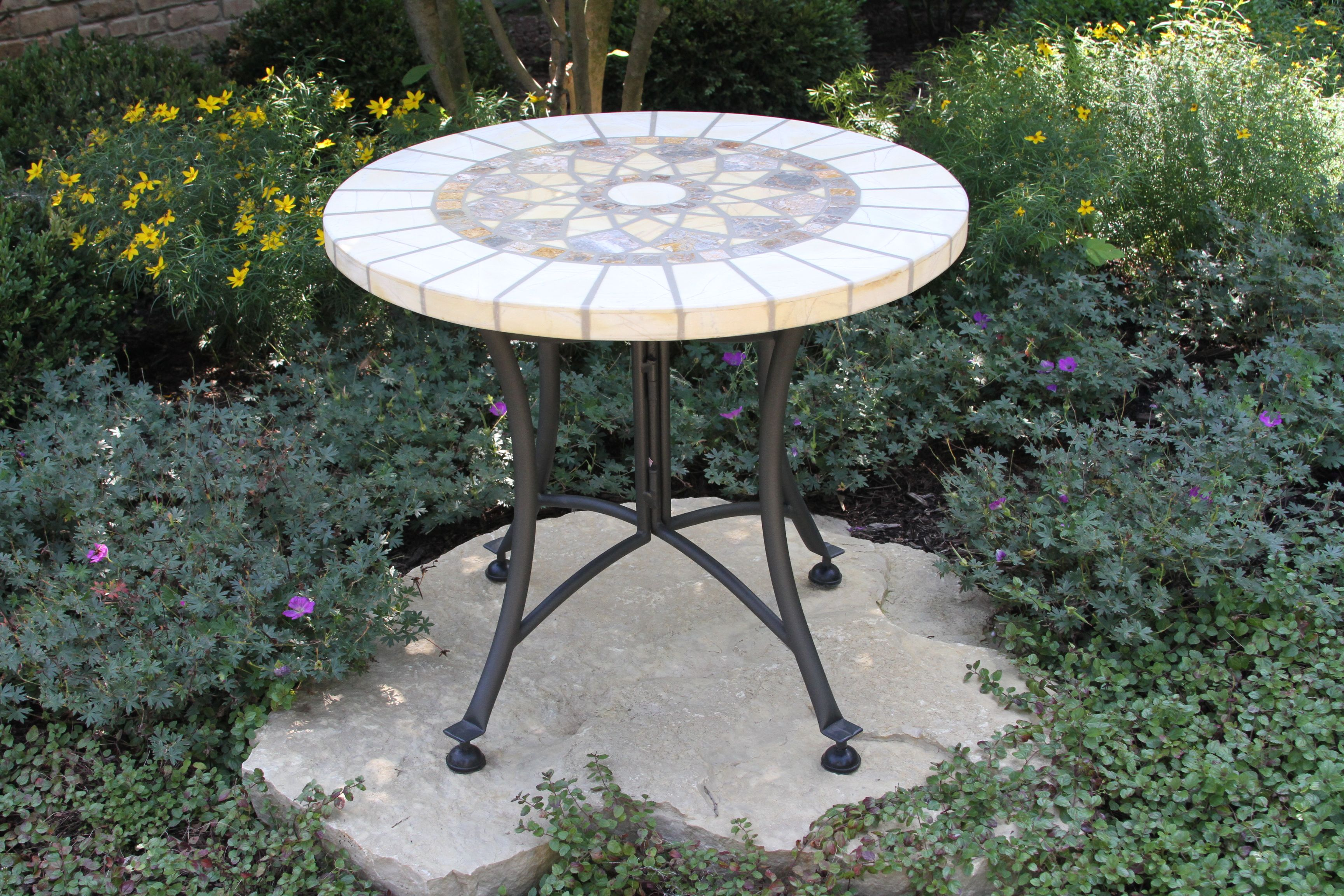 stone marble mosaic accent table decorative outdoor clear acrylic end garden storage unique rustic tables chandelier black mirror contemporary hallway furniture resin narrow sofas