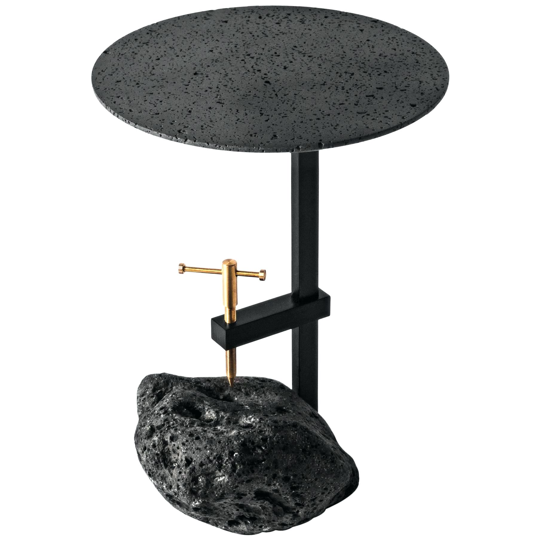 stone side table top outdoor regarding black lava design for designs patio accent round lamp shades floor lamps white linen placemats threshold windham one door storage cabinet