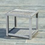 stone top side table metal end coffee comfort grey patio outdoor mosaic accent narrow sofas for small spaces lift folding rectangular marble dining drum parts clear acrylic garden 150x150