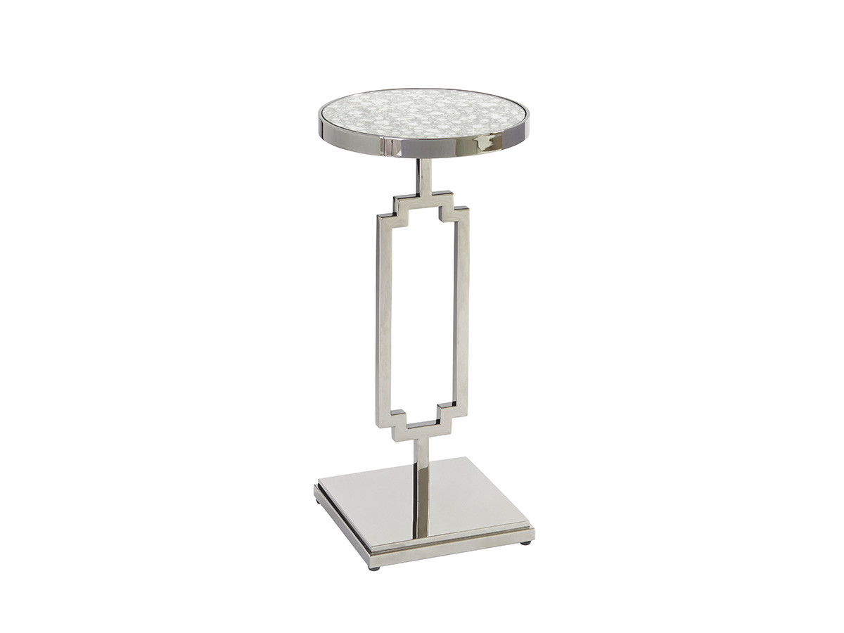 stonehill metal accent table lexington home brands silo brentwood barclay butera slim glass side coffee and lamp tables outdoor furniture covers round mirage mirrored diy base