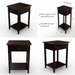 stony edge night stand end accent table with usb port espresso mosaic garden and chairs gold set small nightstand lamps white marble coffee grey wicker patio furniture tablecloth 150x150