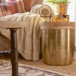 storage drum accent table gold threshold target finds with louisa tall lamps for living room bark thins west elm scoop lamp retro bedroom furniture reclaimed wood top antique 150x150