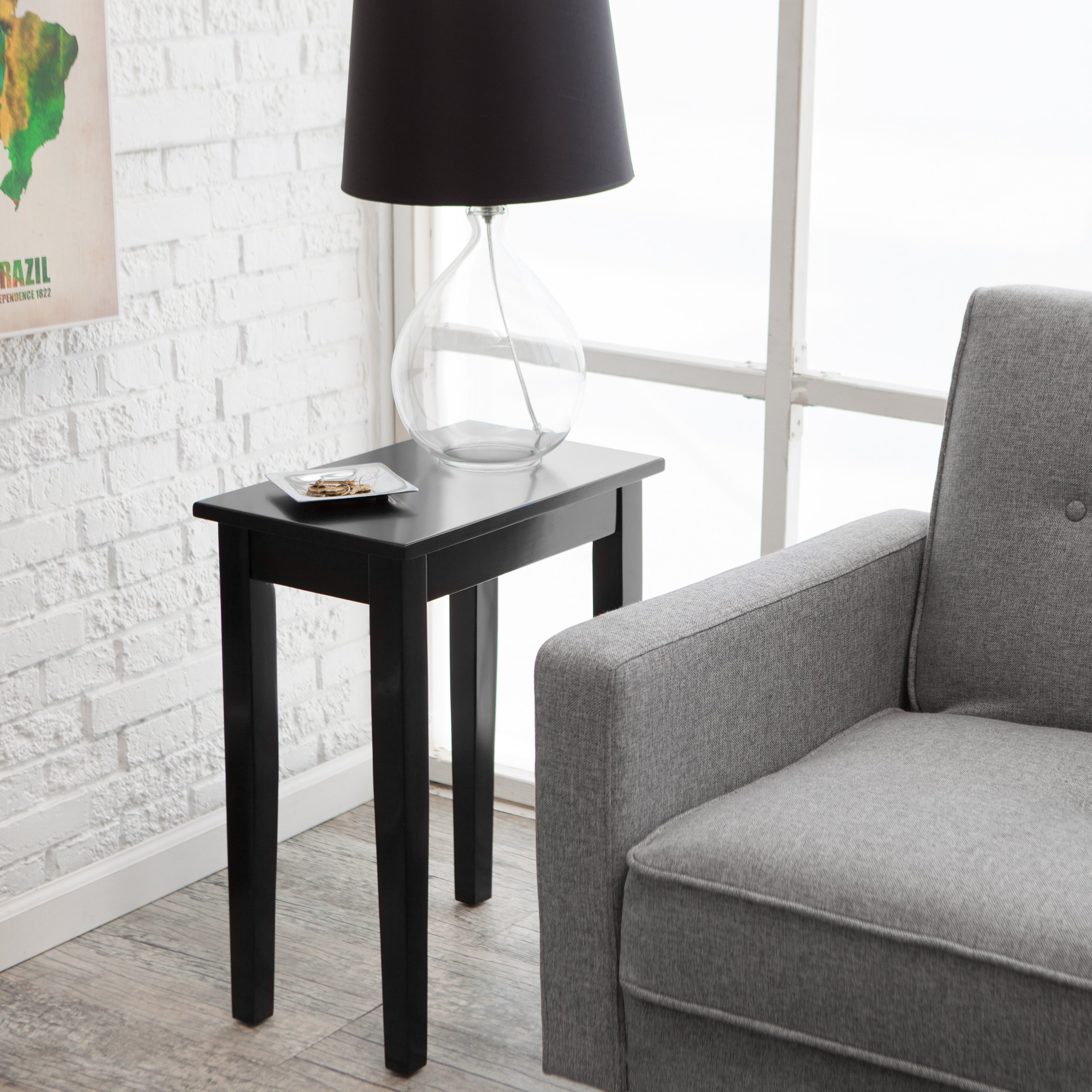 storage end table living decorations decorating tables center narrow wooden glass for land leather side lamp centerpieces rooms modern room white centre oak ideas furniture