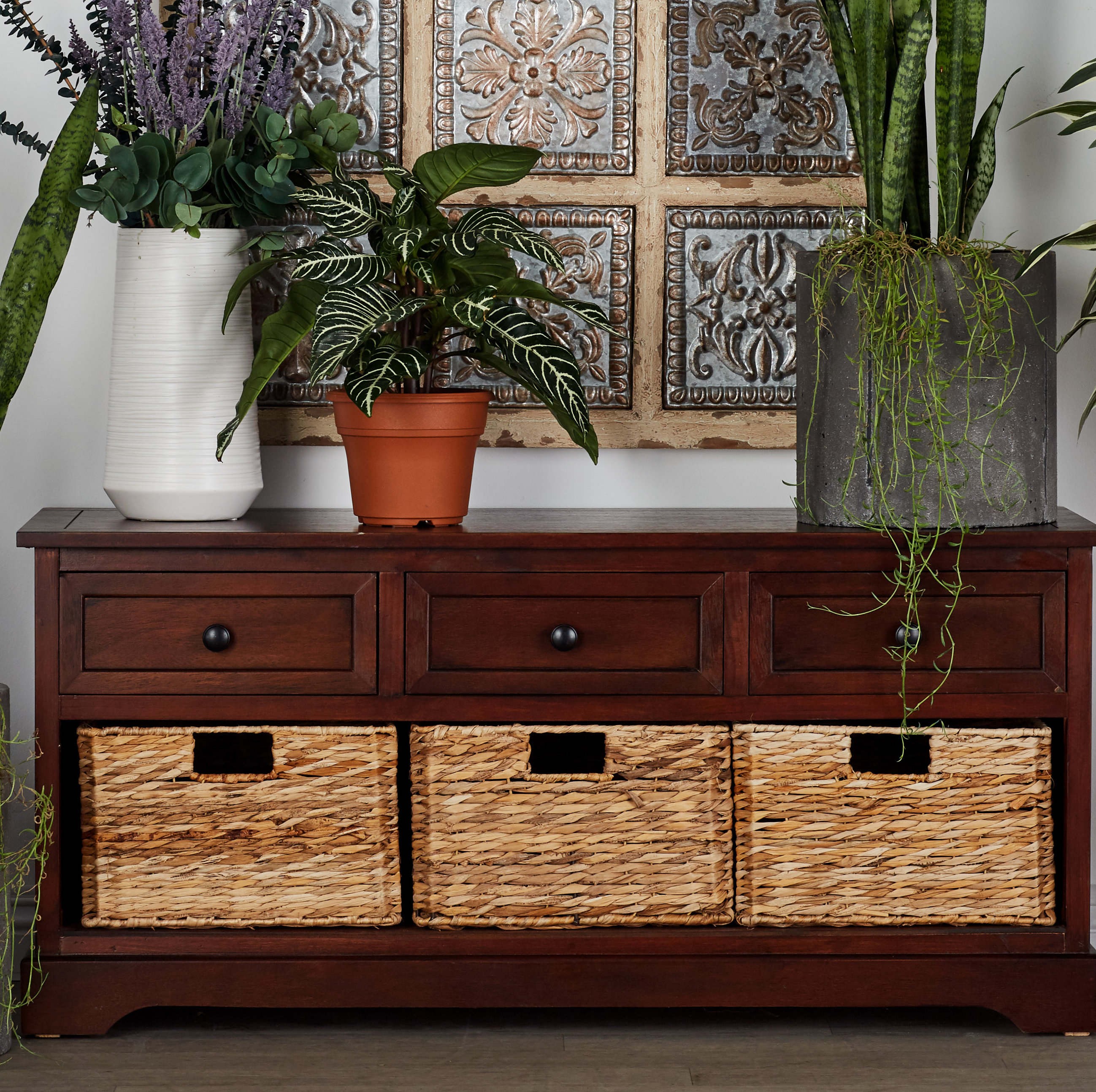storage with wicker drawers ochoa drawer wood basket accent chest patio table collapsible trestle metal coffee designs dale tiffany dragonfly lamp shade leick corner computer desk