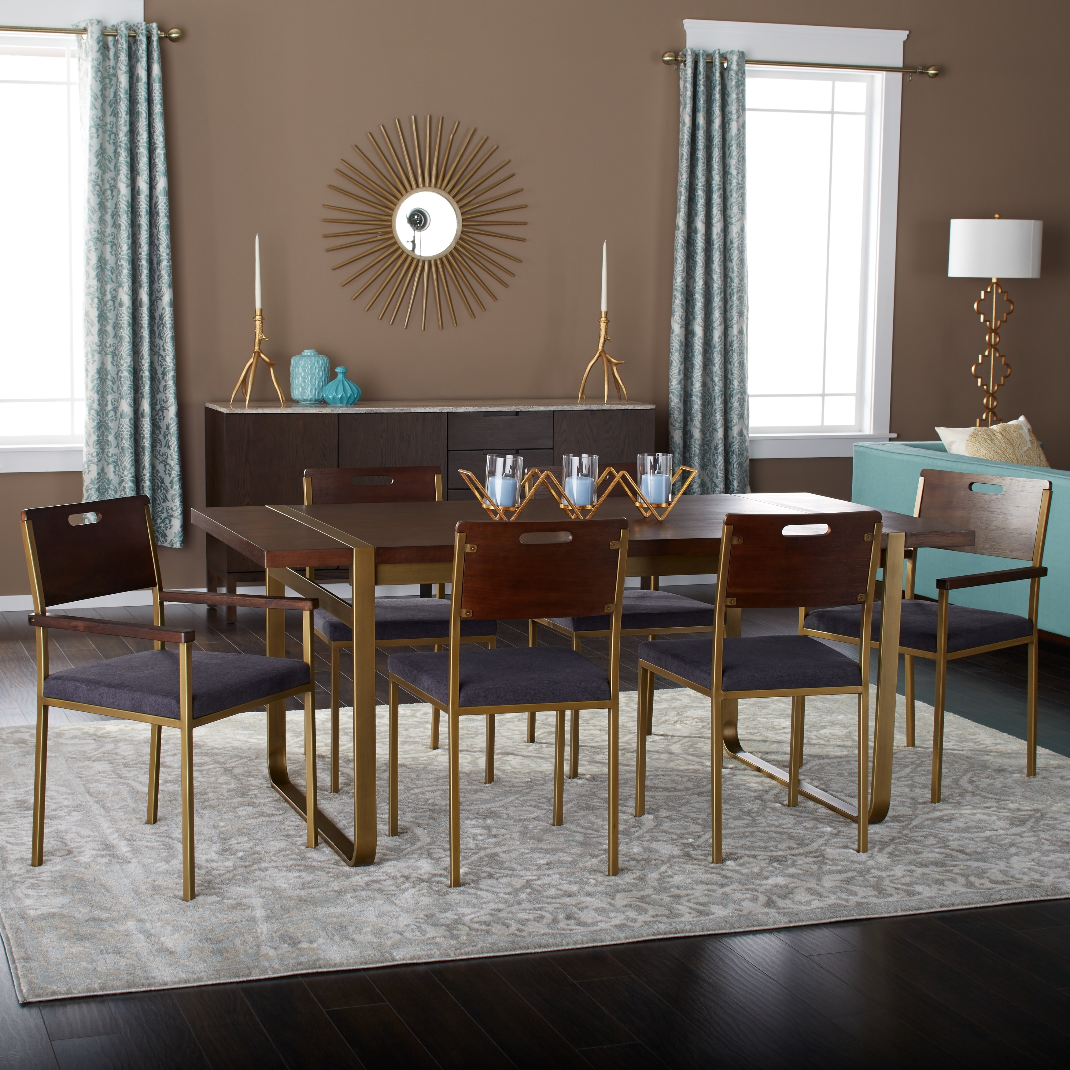 strick bolton tanner inch piece gold accent dining set table cabinets with glass doors room essentials bedding mango wood rustic green coffee tile patio large garden umbrellas