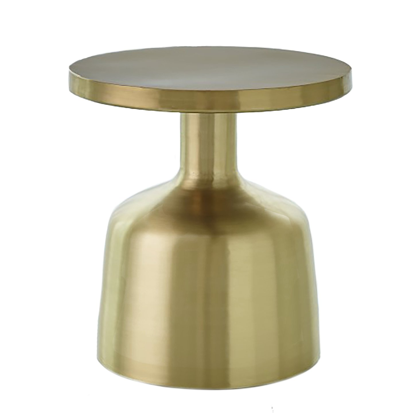 studio neutra accent table satin brass studioatablebrass drum round modern tables wicker outdoor furniture floor mirror small pub and chairs pier one imports crystal base lamp