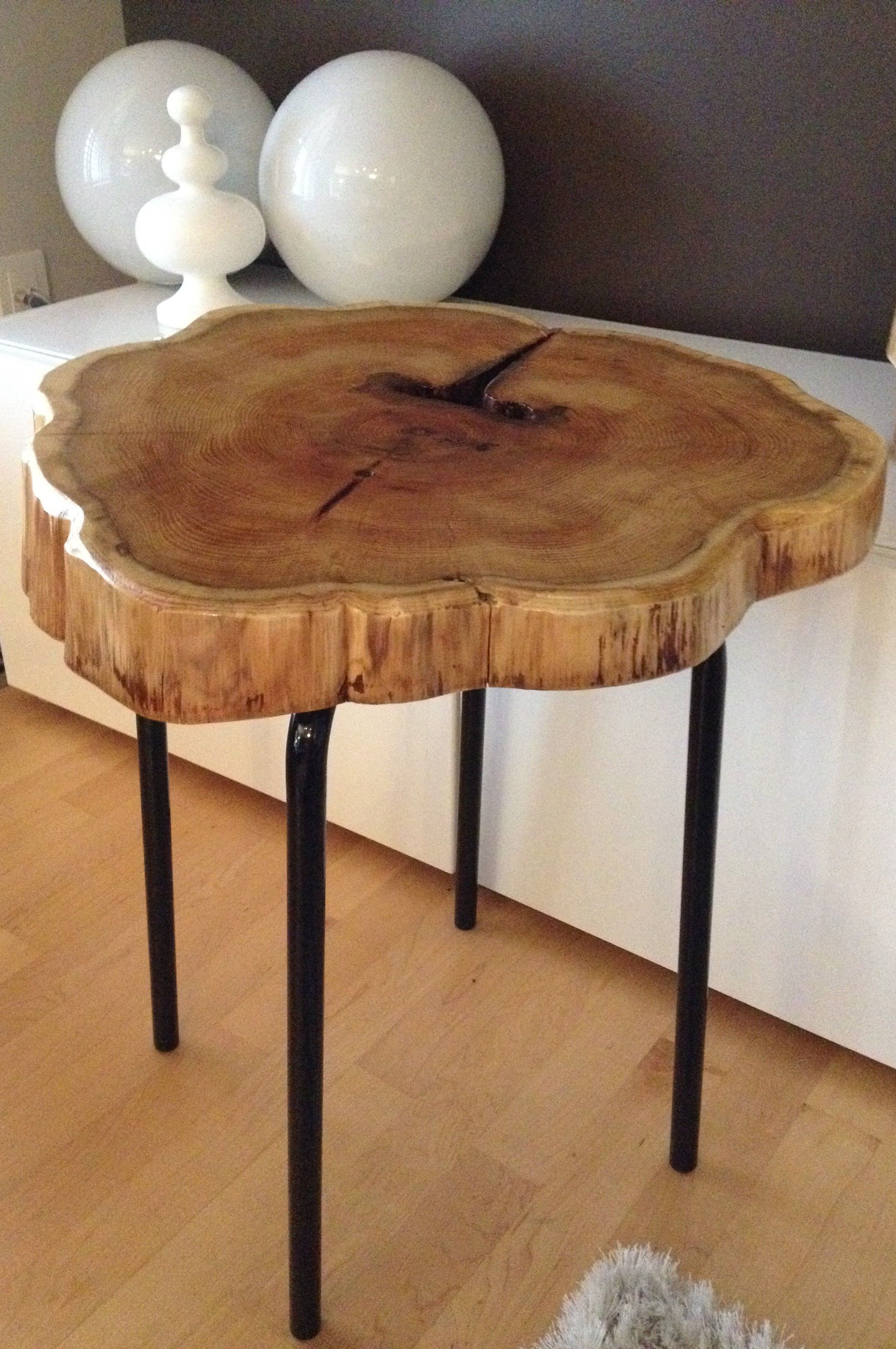 stump end table cedar with metal legs log serenitystumps bedroom accent tables ethan allen court art van couches drum side yellow bedside square coffee rattan chair short shallow