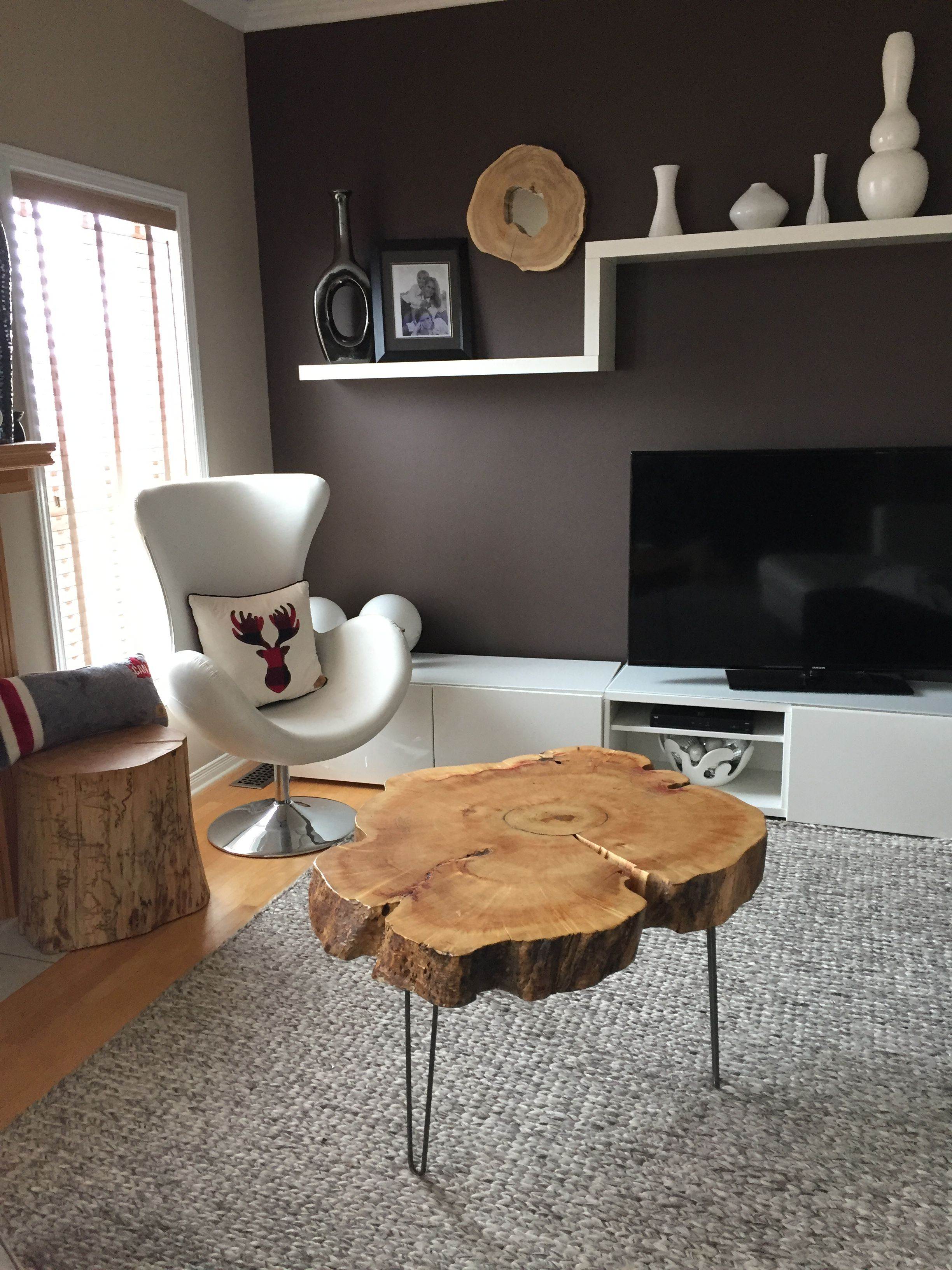 stump side table log tables rustic tree trunk room essentials hairpin accent furniture end coffee root baby owings target nautical dining chairs round white and wood ashley lift