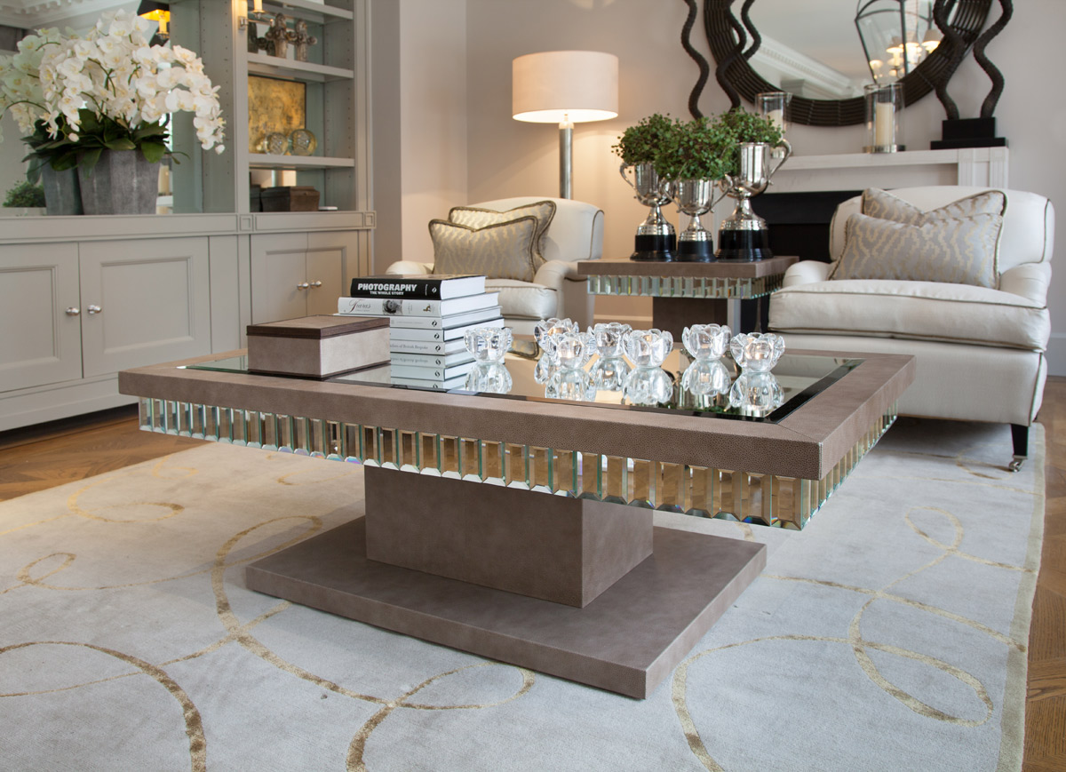 stunning accent coffee table with mirrored tables shine metallic amp acrylic gold and glass console all wood end sauder bookshelf patio storage seahorse lamp fancy tablecloths